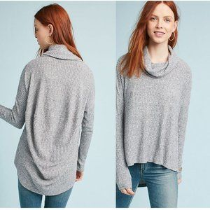 Maeve Anthropologie Brushed Cowl Neck Pullover